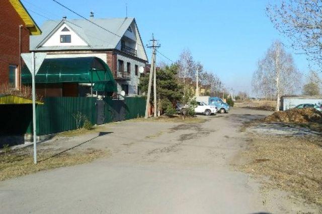 Жилые дома возле завода.