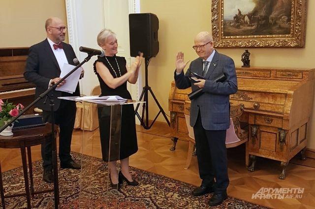 Связанные любовью. В посольстве Греции отметили День филэллинизма