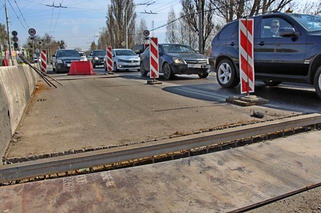 Ремонт моста на Киевской планируют закончить к 8 мая