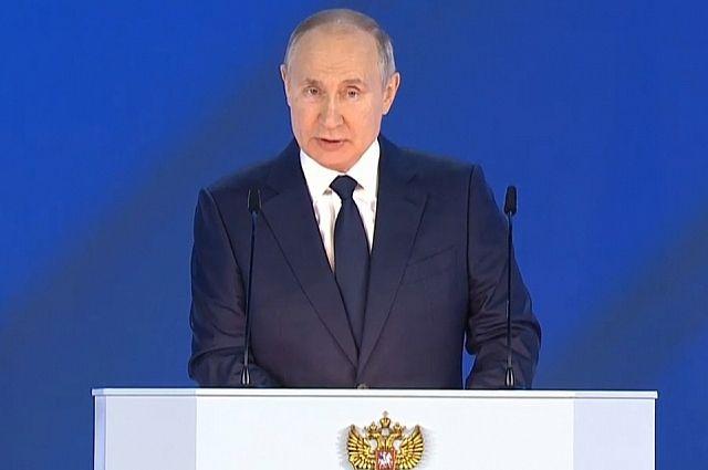 Президент РФ назвал начало пандемии временем абсолютной неопределенности