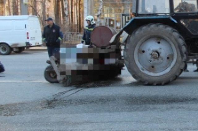 Происшествие произошло утром 21 апреля на шоссе Космонавтов.