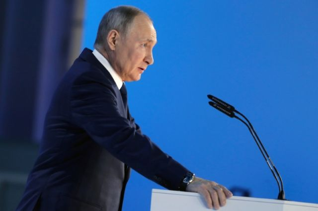 Владимир Путин оглашал послание парламенту 78 минут