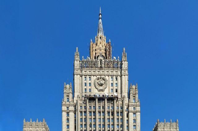 В МИД РФ вызвали замглавы американского посольства