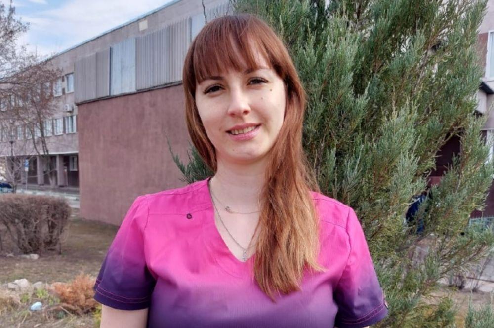 Медицинская сестра палатная отделения реанимации и интенсивной терапии БУЗ ВО ВГКБСМП №1.