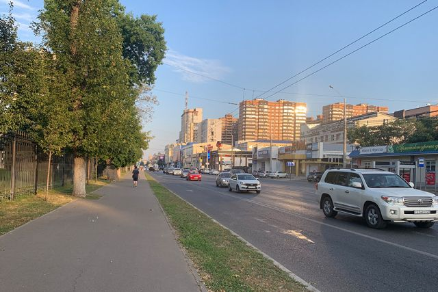 Улица Северная в Краснодаре.