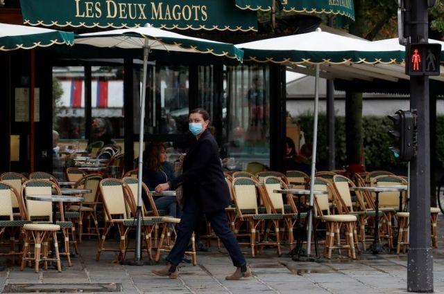 Во Франции сообщили о пике третьей волны эпидемии COVID-19