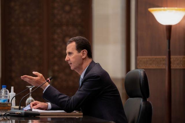 Асад подал заявку на участие в президентских выборах в Сирии
