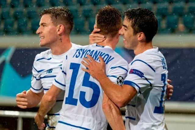 Киевское «Динамо» беспрепятственно вышло в финал Кубка Украины