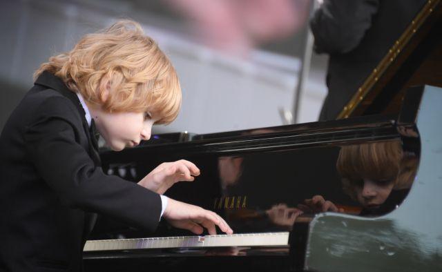 Пианист Елисей Мысин.