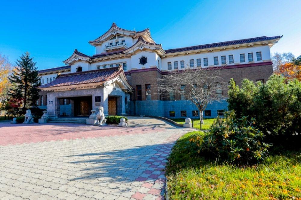 Японское здание музея 1937 года постройки