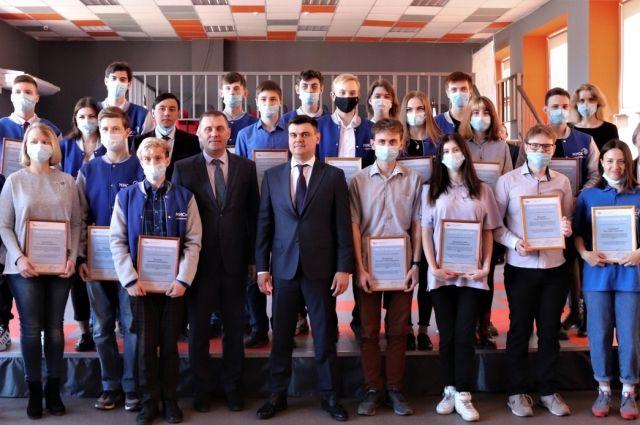Компания «Металлоинвест» поощряет отличную учёбу и социальную активность студентов.