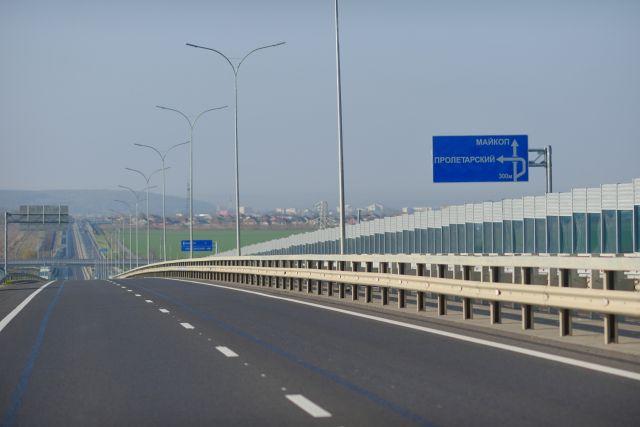 Дороги в Адыгее остаются одними из лучших на юге страны.