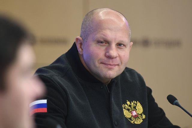 Многократный чемпион мира по смешанным единоборствам Федор Емельяненко.