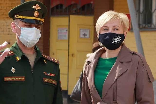 Юлия Сударенко следила за тем, чтобы права митингующих были соблюдены
