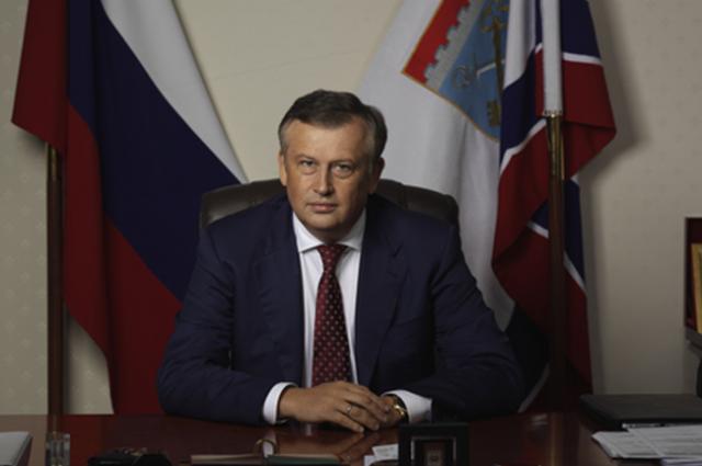Александр Дрозденко отчитался о своей работе, выступая в Гатчине