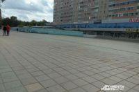 Котлован «Атриума» в центре Оренбурга стремительно расширяется из-за обвалов грунтовых стен.