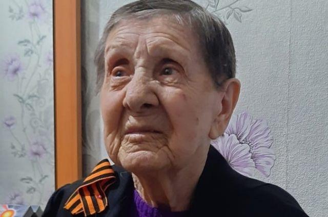 Участнице Сталинградской битвы 97 лет.