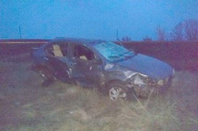 В ДТП в Оренбуржье пострадали два человека.