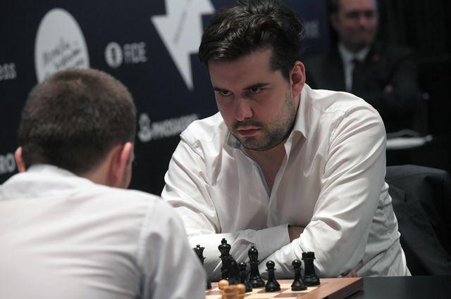 Российский гроссмейстер Ян Непомнящий.