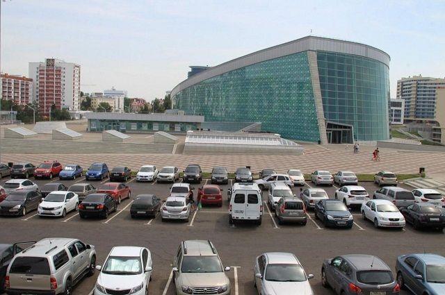В Уфе временно закроют парковку возле Конгресс-холла