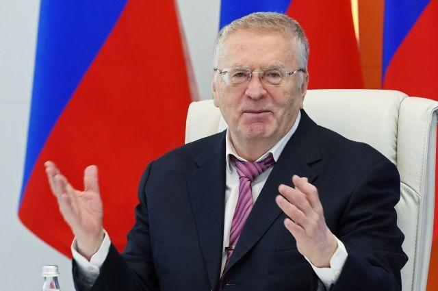 Владимир Жириновский отмечает 75-летие.
