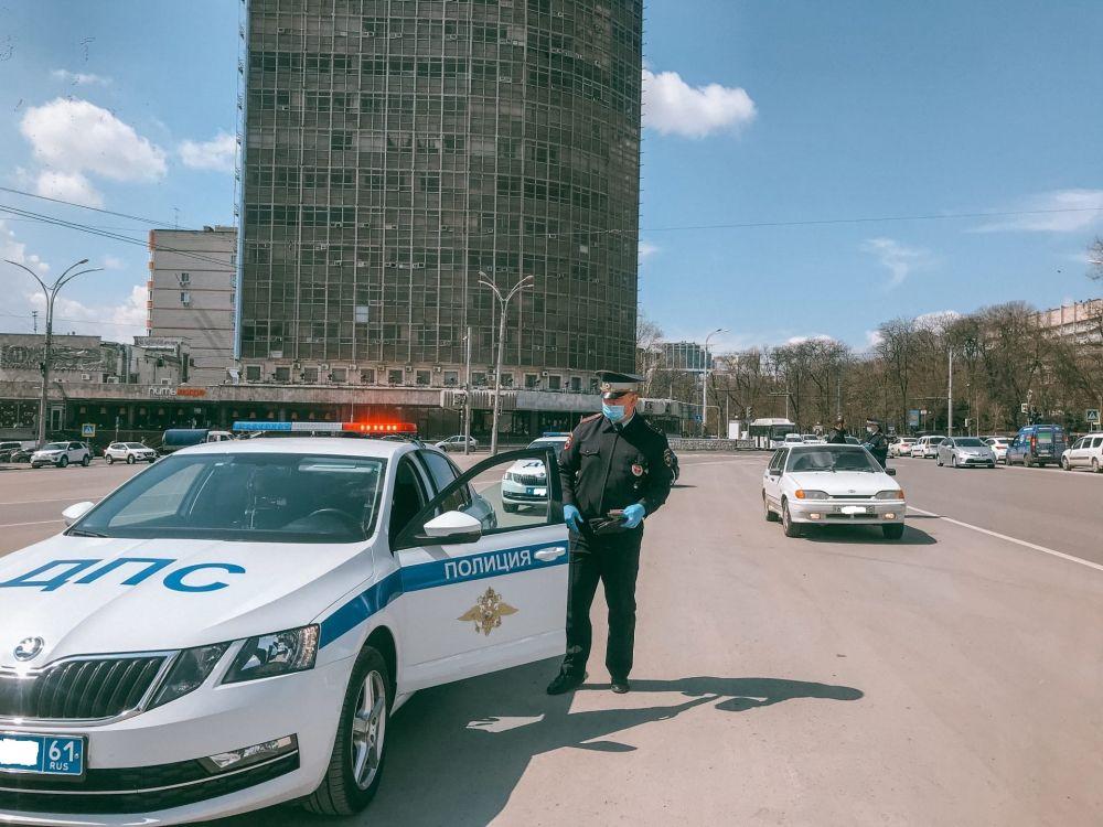 Рейды «Тонировка» в центре Ростова