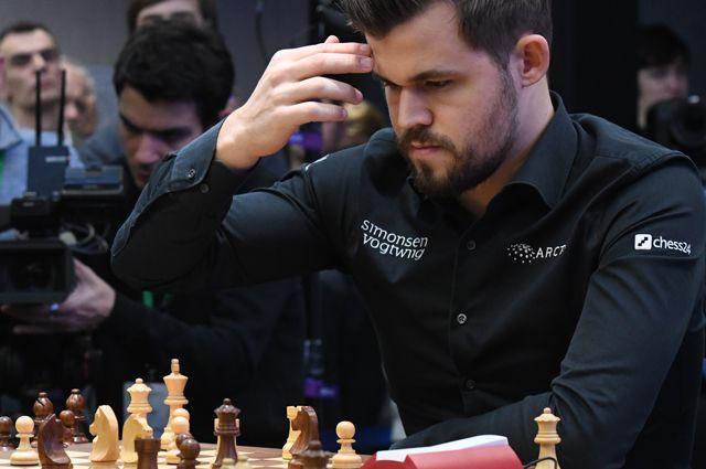 Гроссмейстер Магнус Карлсен.