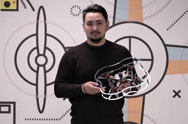 Артур Берендяев шесть лет конструирует летательные аппараты
