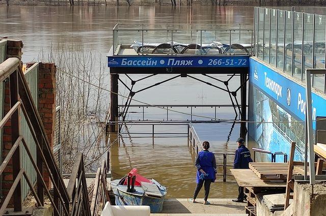 В Уфе прогнозируется подъем реки Дёмы
