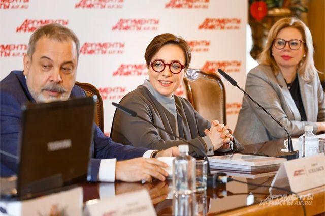 Алексей Ковальков, Тутта Ларсен, Ника Ганич.