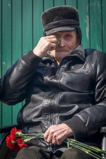 Василий Полежаев - единственный ветеран Новосёловского района.
