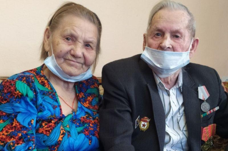 Супруги Тереховы в пос. Опытное поле.