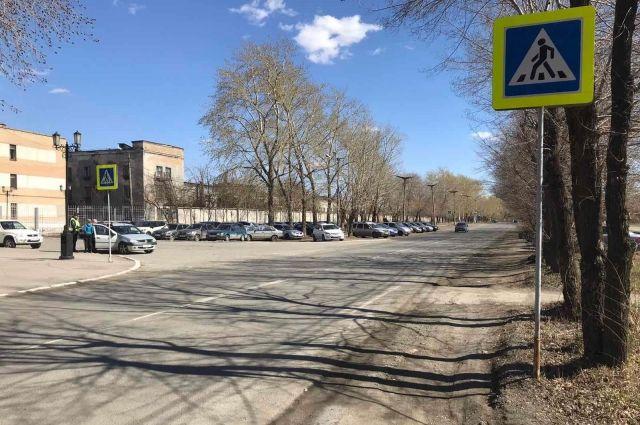 Пенсионерку в Челябинске сбили на «зебре»