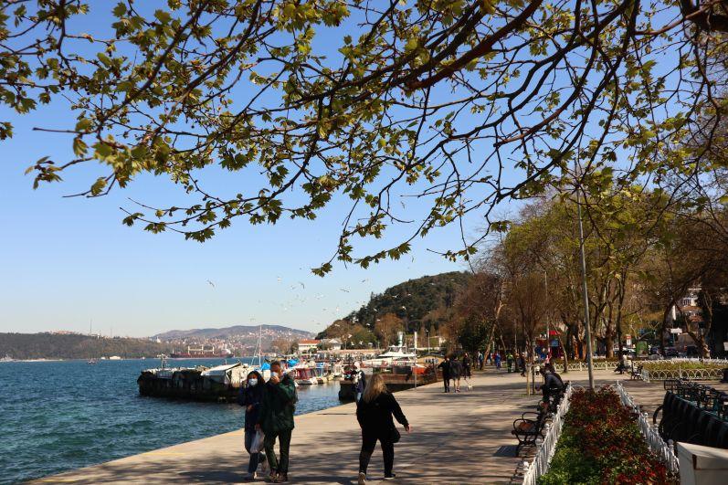 Набережная пролива Босфор в Стамбуле