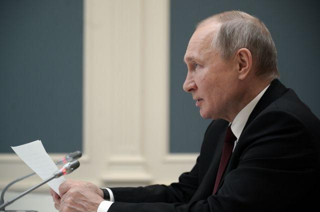 Путин поздравил главу ЮАР с национальным праздником