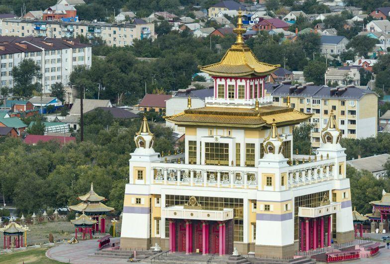 Буддийский храм «Золотая обитель Будды Шакьямуни» (Республика Калмыкия)