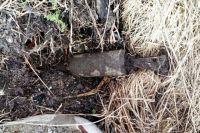 Жители села в Бузулукском районе нашли в овраге 15 танковых снарядов.