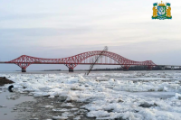 В районе Ханты-Мансийска сбросил оковы Иртыш
