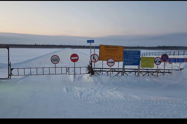 Дневной проезд по зимнику Коротчаево — Красноселькуп запрещен для всех авто
