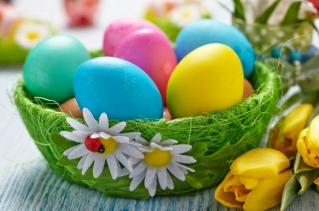 Без химии. Какие есть натуральные красители для пасхальных яиц