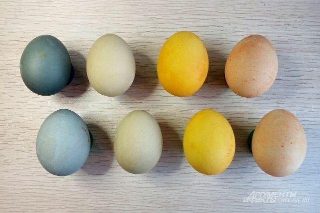 С натуральными красителями можно получить и нежные, и яркие цвета.