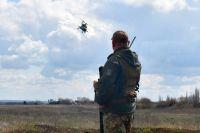 В Донецкой области военные провели учения авиационных наводчиков