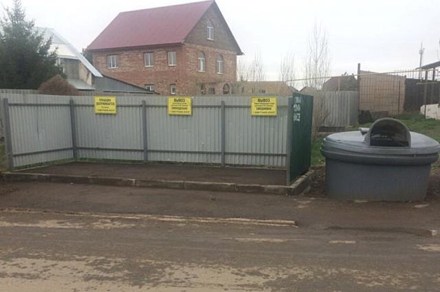 Было очищено 26 контейнерных площадок в Подгородней Покровке.