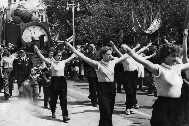 Краснодар, 1958 год, завод ЗИП.