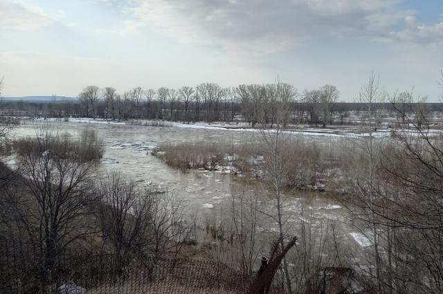 В Уфе остаются подтопленными более 1,3 тыс. метров дорог
