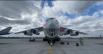 Самолет Ил-76 МЧС РФ с гуманитарной помощью для отправки в Индию в аэропорту Жуковский