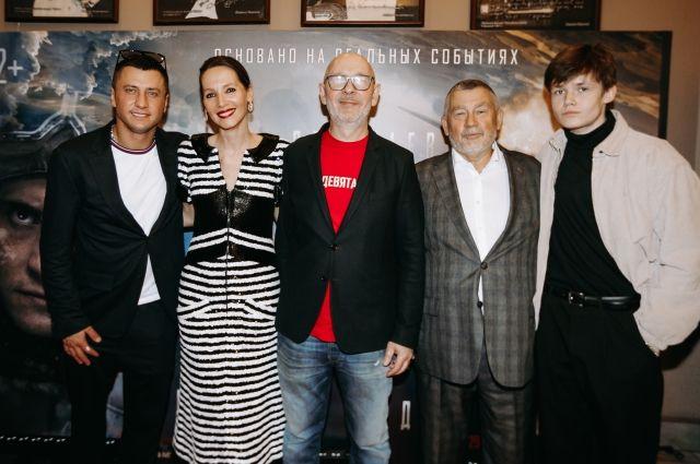 В Петербурге состоялась премьера фильма «Девятаев».