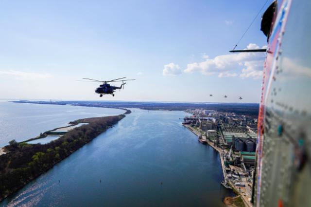 Летчики Балтийского флота готовятся к Параду Победы