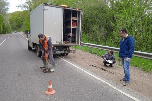 В Майкопе проводится проверка отремонтированных участков автодорог