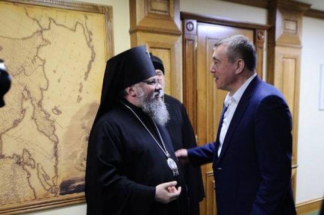 Владыка Никанор рассказал, что ранее уже служил на Сахалине, и рад вернуться.
